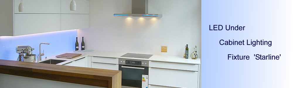 modern LED under cabinet lighting