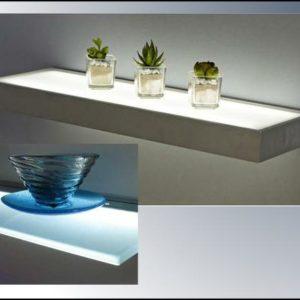 LED Glass Shelves