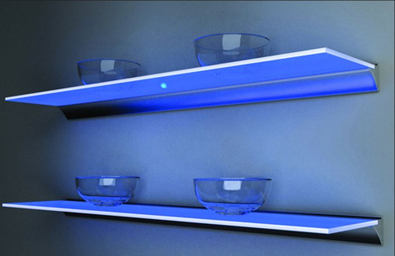 lighted glass shelf 2