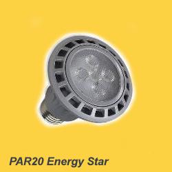 PAR20 LED replacment bulb with aluminum housing