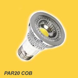 PAR20 LED bulb, COB