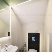bathroom lighting with LED strips
