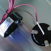 LED puck light surface or recessed mount