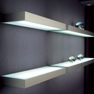 glass shelf lighting. LED Glass Shelves Shelf Lighting