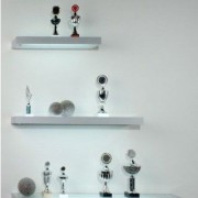LED lighted glass shllves in different sizes