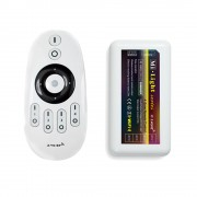 LED remote controller for 4 different zones