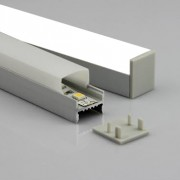 square LED linear light, custom sizes available