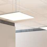 suspended LED panels for offices
