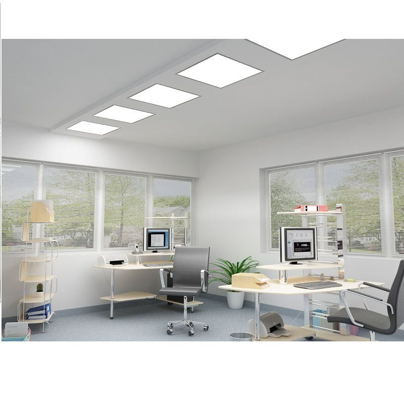 recessed, slim LED panels