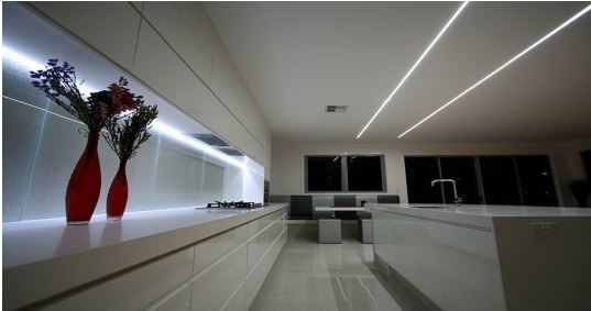 recessed LED linear lighting