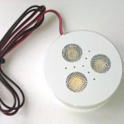 White LED puck light