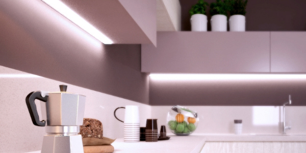 LED light fixture fino