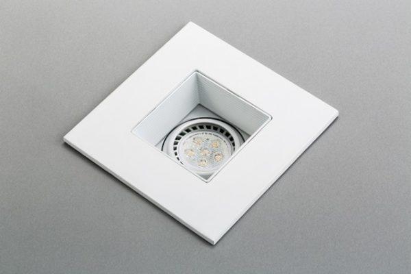 recessed white LED gimbal trim