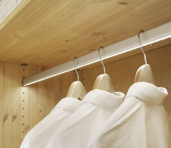 Led Lighted Closet Rod Creative Led Designs