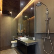 LED lighting in bathroom