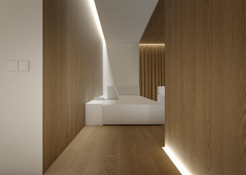 LED linear lighting fixture 'Fino'