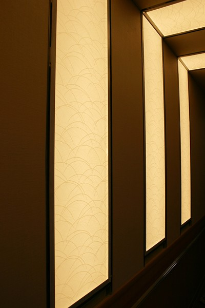 LED light panel for accent wall lighting