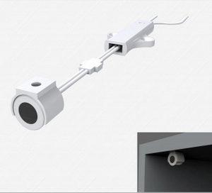 LED hand shaking sensor switch