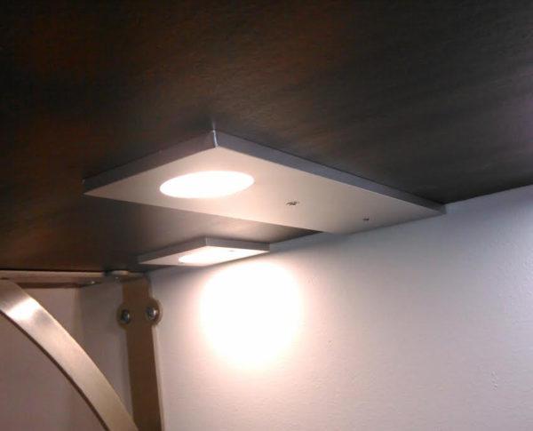surface mount flat led puck light