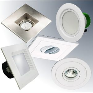 LED Downlights, Retrofits, Trims