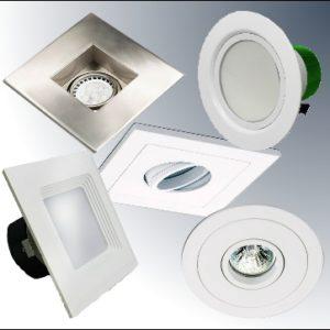 LED Downlights, Retrofits, Trims